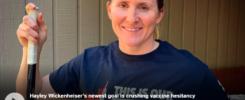 Hayley Wickenheiser crushes vaccine hesitancy